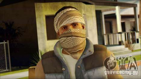 Arabian Resurrection Skin from COD 5 для GTA San Andreas третий скриншот