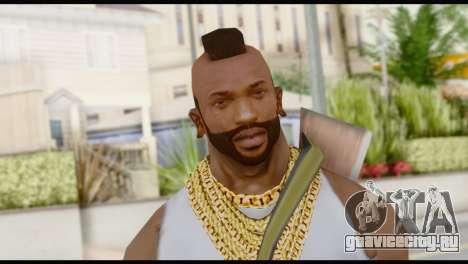 MR T Skin v6 для GTA San Andreas третий скриншот