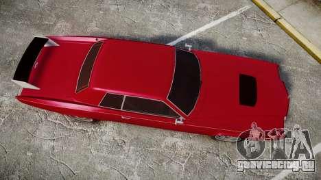 Albany Buccaneer Modified для GTA 4 вид справа