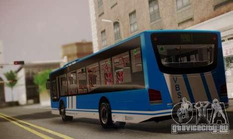 Design X4 Dreamer Blueline для GTA San Andreas вид слева
