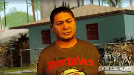 GTA 5 Ped 19 для GTA San Andreas третий скриншот