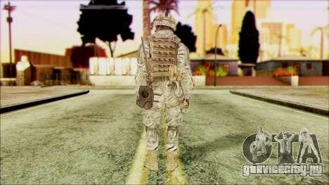 Рейнджер (CoD: MW2) v5 для GTA San Andreas второй скриншот