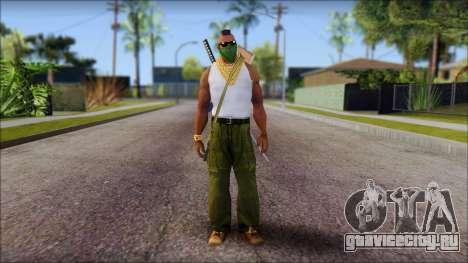 MR T Skin v12 для GTA San Andreas