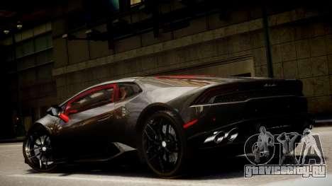 Lamborghini Huracan LP610-4 SuperTrofeo для GTA 4 вид сбоку