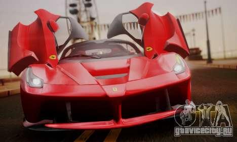 Ferrari LaFerrari F70 2014 для GTA San Andreas салон