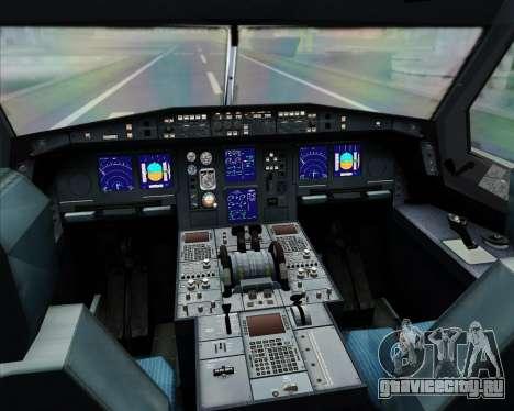 Airbus A330-300 Thai Airways International для GTA San Andreas салон
