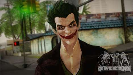 Joker From Batman: Arkham Origins для GTA San Andreas третий скриншот