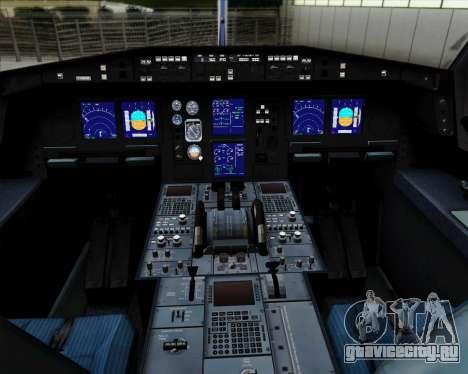 Airbus A330-300P2F Federal Express для GTA San Andreas салон