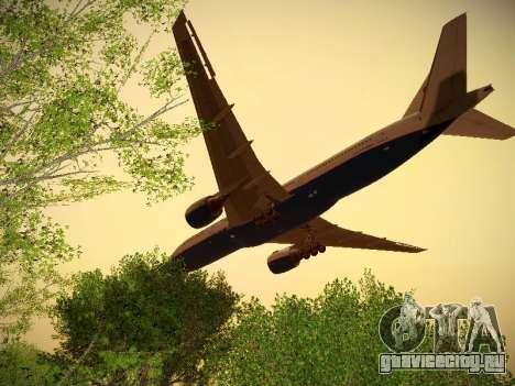 Boeing 777-2Q8ER Orenair Airlines для GTA San Andreas вид сзади