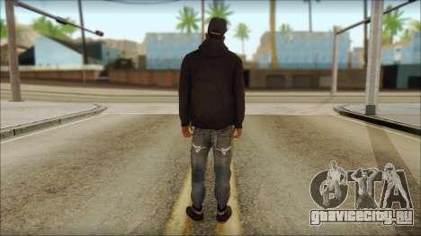 New Grove Street Family Skin v2 для GTA San Andreas второй скриншот