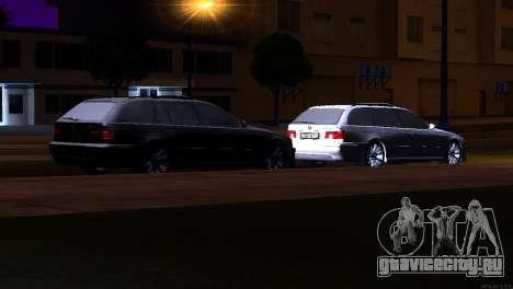 BMW 530d для GTA San Andreas вид сбоку