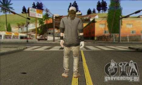 Raymond Kenney from Watch Dogs для GTA San Andreas второй скриншот