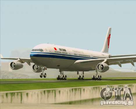 Airbus A340-313 Air China для GTA San Andreas вид сбоку