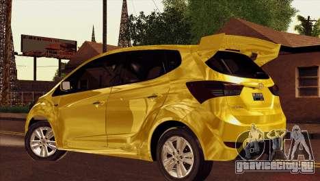 Hyundai IX20 2011 для GTA San Andreas вид слева