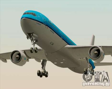 Airbus A330-300 KLM Royal Dutch Airlines для GTA San Andreas вид слева