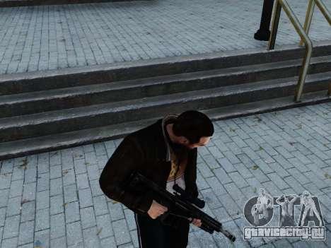 Barrett M107CQ для GTA 4 третий скриншот