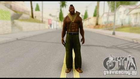 MR T Skin v5 для GTA San Andreas