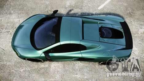 McLaren 650S Spider 2014 [EPM] Yokohama ADVAN v1 для GTA 4 вид справа