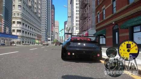 Датчики Машины для GTA 4