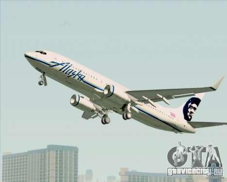 Boeing 737-890 Alaska Airlines для GTA San Andreas вид сзади