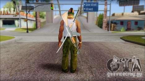 MR T Skin v12 для GTA San Andreas второй скриншот