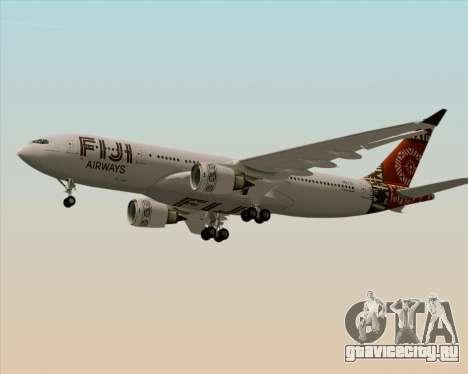 Airbus A330-200 Fiji Airways для GTA San Andreas двигатель