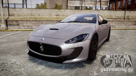Maserati GranTurismo MC Stradale 2014 [Updated] для GTA 4