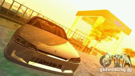 Nissan Silvia S15 TUNING JDM для GTA Vice City вид сзади слева