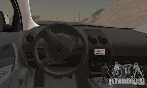 Nissan Qashqai TR POLİS для GTA San Andreas вид сзади слева