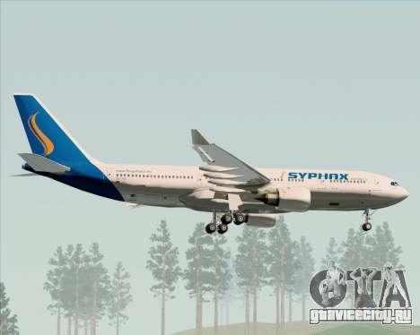 Airbus A330-200 Syphax Airlines для GTA San Andreas вид снизу