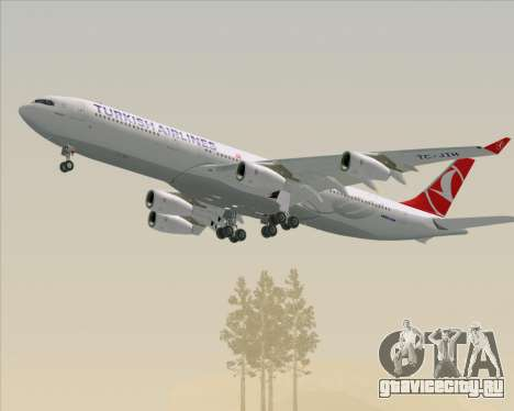 Airbus A340-313 Turkish Airlines для GTA San Andreas