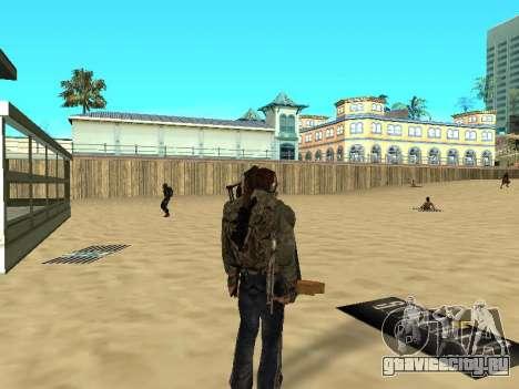 Новые коврики на пляже для GTA San Andreas