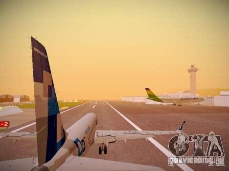 Embraer E190 TRIP Linhas Aereas Brasileira для GTA San Andreas двигатель