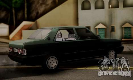 Tofas Dogan SLX 1999 1.6 для GTA San Andreas вид слева
