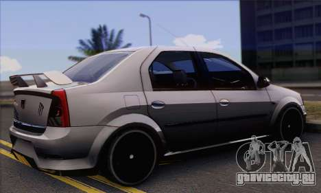 Dacia Logan Hoonigan Edition для GTA San Andreas вид слева