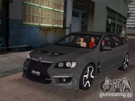 Holden HSV GTS 2011 для GTA Vice City салон