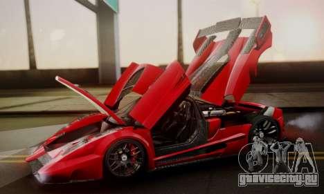 Ferrari Gemballa MIG-U1 для GTA San Andreas двигатель