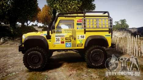 Land Rover Defender для GTA 4 вид слева