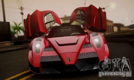 Ferrari Gemballa MIG-U1 для GTA San Andreas вид сзади