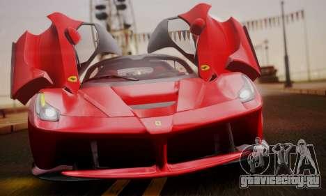 Ferrari LaFerrari F70 2014 для GTA San Andreas двигатель