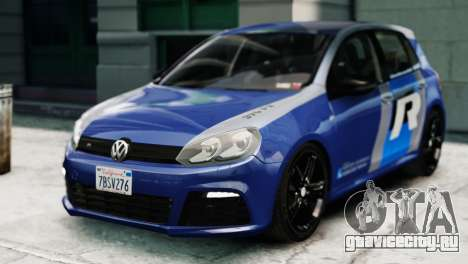 Volkswagen Golf R 2010 ABT Paintjob для GTA 4