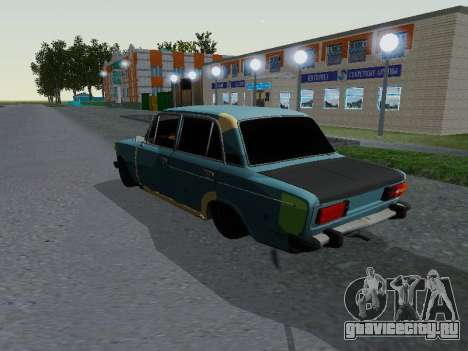 ВАЗ 2106 для GTA San Andreas вид слева