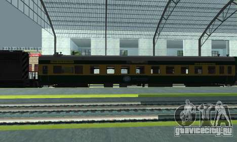 Garib Rath Express для GTA San Andreas вид слева