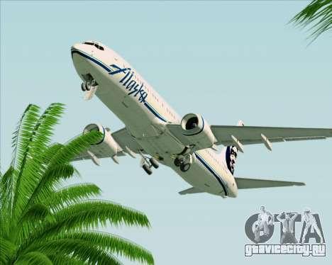 Boeing 737-890 Alaska Airlines для GTA San Andreas вид сверху