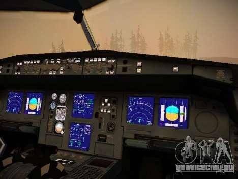 Airbus A340-300 Virgin Atlantic для GTA San Andreas колёса