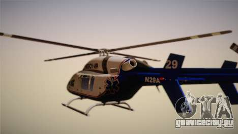 Bell 429 v3 для GTA San Andreas вид слева