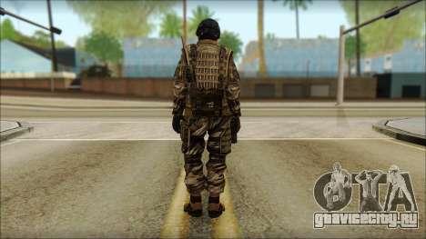 Солдат ЕС (AVA) v5 для GTA San Andreas второй скриншот