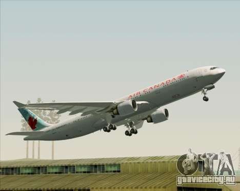 Airbus A330-300 Air Canada для GTA San Andreas двигатель
