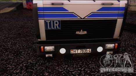 МАЗ 642208 для GTA San Andreas вид справа