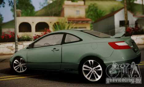 Honda Civic SI 2006 для GTA San Andreas вид слева